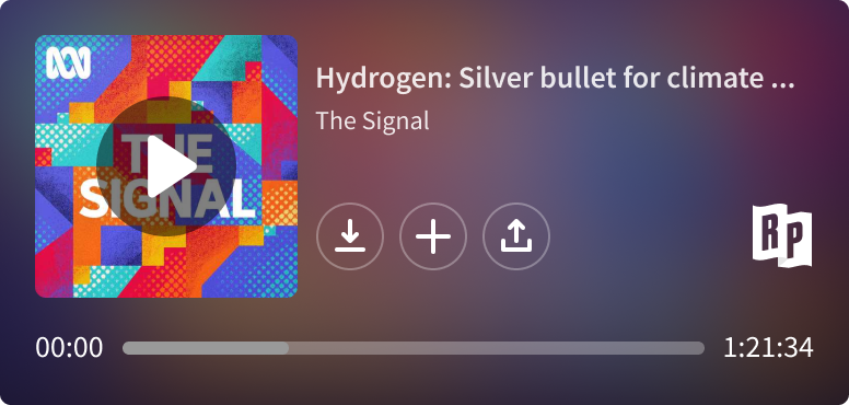 The Signal podcast in the RadioPublic embed player.